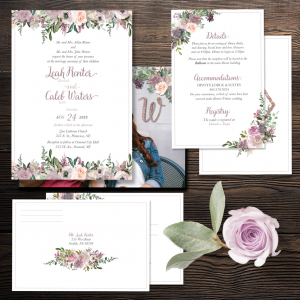 Mauve-elous Invitation Suite