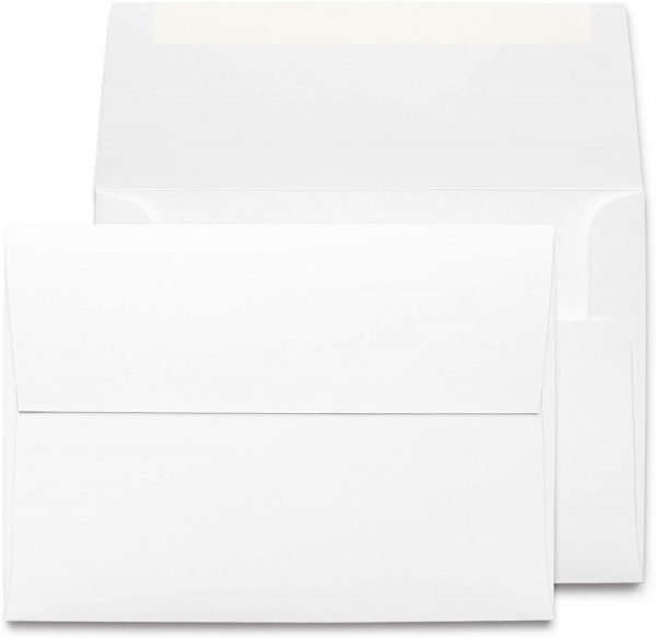 Blank White Envelopes